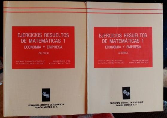 EJERCICIOS RESUELTOS DE MATEMATICAS 1. ECONOMIA Y EMPRESA . 2 ...