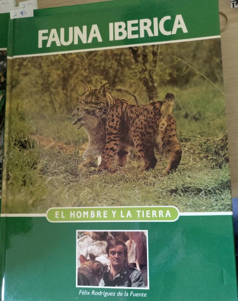 ENCICLOPEDIA SALVAT DE LA FAUNA IBERICA Y EUROPEA. EL HOMBRE Y LA TIERRA. TOMO 5. - RODRIGUEZ DE LA FUENTE, Felix.