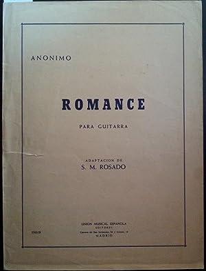 ROMANCE PARA GUITARRA.