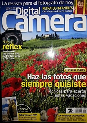 DIGITAL CAMERA. Nº 64. JULIO/AGOSTO 2008.