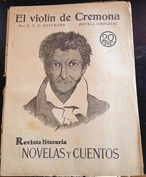 REVISTA LITERARIA. NOVELAS Y CUENTOS. ACTEA (NOVELA COMPLETA).: HOFFMANN, Ernesto Teodoro.