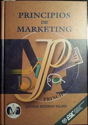 PRINCIPIOS DE MARKETING.: ESTEBAN TALAYA, Agueda.
