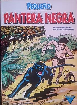 PEQUEÑO PANTERA NEGRA. EL TOTEM SANGRIENTO. LOS HOMBRES LEOPARDOS. VOLUMEN 1.
