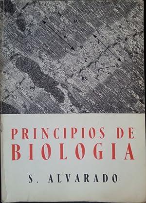 PRINCIPIOS DE BIOLOGIA.: ALVARADO, S.