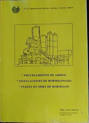 PROCEDIMIENTOS GENERALES DE CONSTRUCCION.: TIKTIN, Prof Juan.