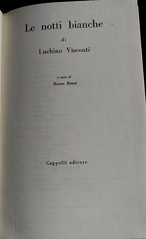 LE NOTTI BIANCHE.: VISCONTI, Luchino.