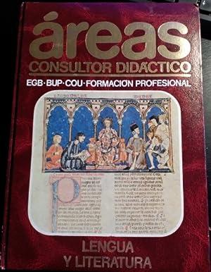 AREAS. CONSULTOR DIDACTICO. LENGUA Y LITERATURA (EGB,