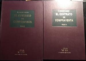 EL CONTRATO DE COMPRAVENTA. 2 TOMOS; OBRA COMPLETA.: BADENES GASSET, R.