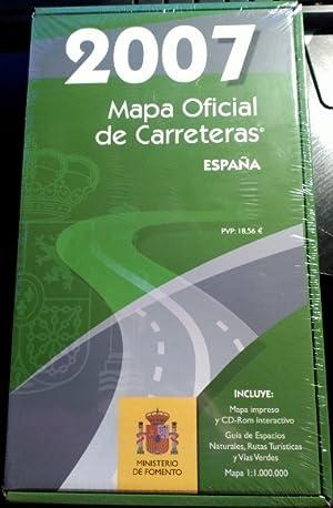 MAPA OFICIAL DE CARRETERAS ESPAÑA 2007.