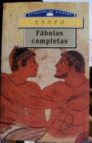 FABULAS COMPLETAS.: ESOPO.