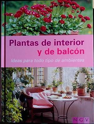 PLANTAS DE INTERIOR Y DE BALCON. IDEAS