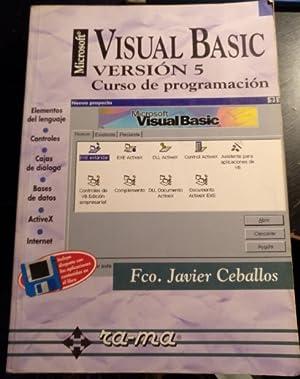 VISUAL BASIC VERSION 5. CURSO DE PROGRAMACION.: CEBALLOS SIERRA, Fco.
