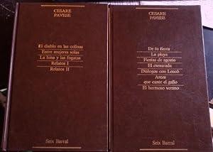 NARRATIVA COMPLETA. TOMO I: DE TU TIERRA.: PAVESE, Cesare.