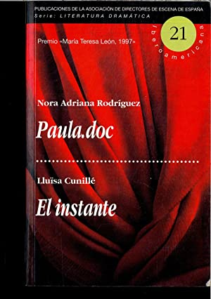 PAULA. DOC - EL INSTATE: NORA ADRIANA RODRIGUEZ