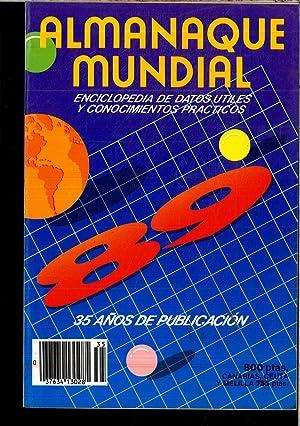 ALMANAQUE MUNDIAL 89 (ENCICLOPEDIA DE DATOS UTILES: VARIOS