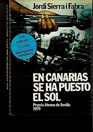 En Canarias se ha puesto el sol: Jordi Sierra i
