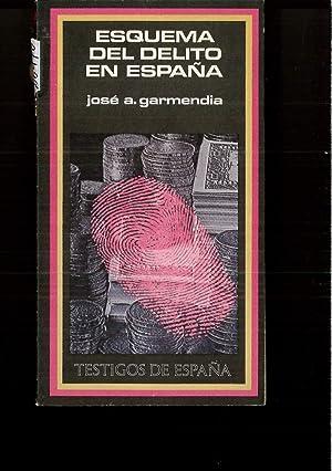 ESQUEMA DEL DELITO EN ESPAÑA: Jose A GARMENDIA
