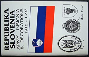 Republika Slovenia Army Insignia and Decorations 1918: Furlan, Marian.
