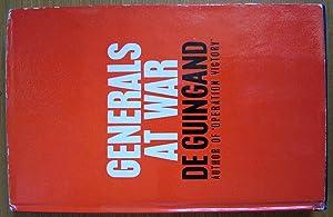 Generals at War.: Guingand, Major-General Sir
