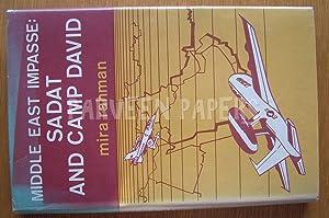 Middle East Impasse : Sadat and Camp: Rahman, Mira.