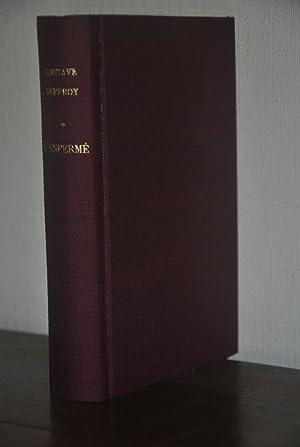 L'ENFERMÉ. Avec le masque d'Auguste Blanqui, eau-forte: Gustave Geffroy
