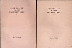 Journal de Marie Bashkirtseff. 2 tomes.