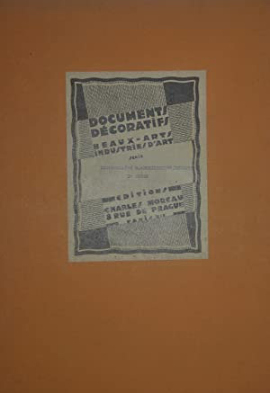 Documents décoratifs. Beaux-arts, industries d'art. Dictionnaire d'architecture et de sculpture. ...
