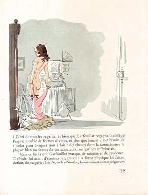 Sainte-Colline. Illustrations originales de Jacques Touchet.