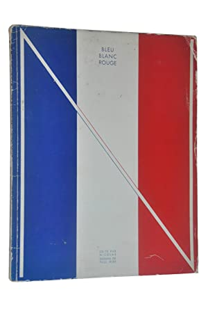 Bleu Blanc Rouge. Plaquette N°3 : France. Dessins de Paul Iribe.