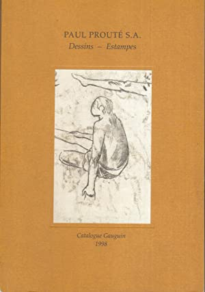 Catalogue Prouté - GAUGUIN 1998. Dessins - Estampes.