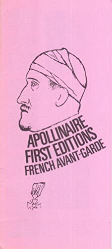 EX LIBRIS CATALOG : Apollinaire, First editions French Avant-Garde.