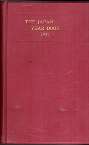 The Japan Year Book 1933