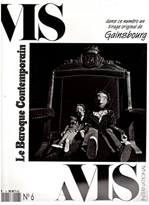 VIS A VIS INTERNATIONAL N°6 - Tirage original de GAINSBOURG