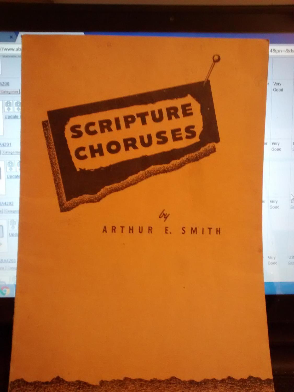 SCRIPTURE CHORUSES
