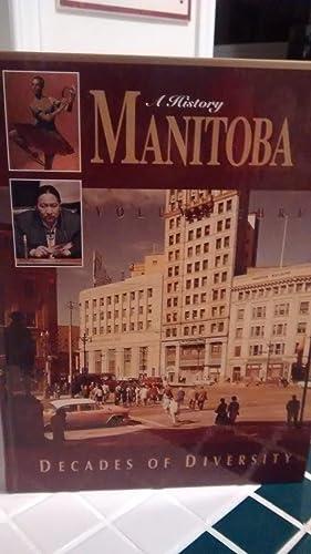 MANITOBA 125 Volume Three (3) Decades of: EDIT. BY GREG