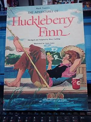 MARK TWAIN'S ADVENTURES OF HUCKLEBERRY FINN: MARK TWAIN (Abridged