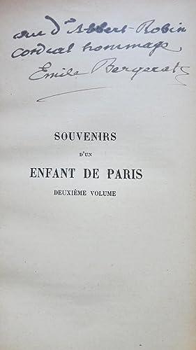 Souvenirs d'un enfant de Paris: BERGERAT (Emile)
