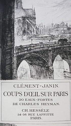 Coups d'oeil sur Paris: CLEMENT-JANIN