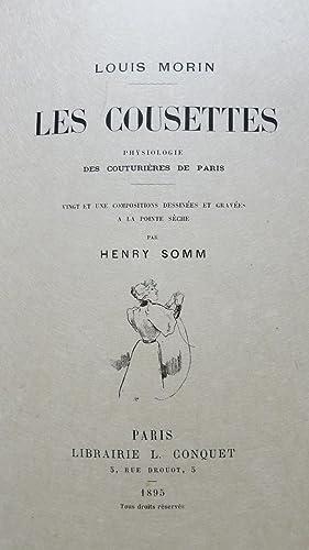 Les cousettes. Physiologies des couturières de Paris: MORIN (Louis)