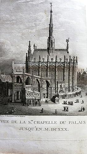 Histoire de la Sainte Chapelle du Palais, enrichie de planches présentées à l&...