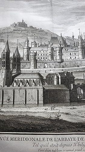 Histoire de l'Abbaye royale de Saint-Germain des prez contenant la vie des abbez qui l'ont ...
