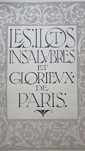 Les Ilots insalubres et glorieux de Paris.: LARGUIER (Léo)
