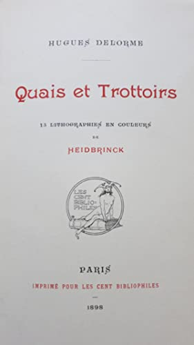 Quais et trottoirs: DELORME (Hugues)
