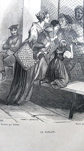 Les Prisons de Paris. Histoire, types, moeurs, mystères: ALHOY (Maurice) et LURINE (Louis)