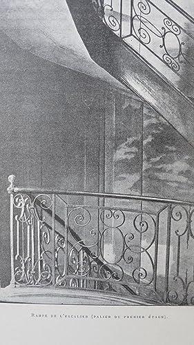 Un vieil Hôtel du Marais (rue Aubriot). Notice ornée de vingt gravures, portraits, pi&...