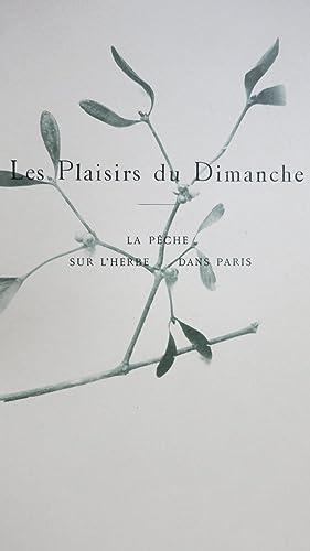 Croquis parisiens. Les plaisirs du Dimanche. A travers les rues. Illustrations directes d'apr&...