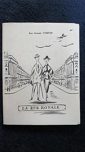La rue Royale.: CHAPLIN (J.-J.)