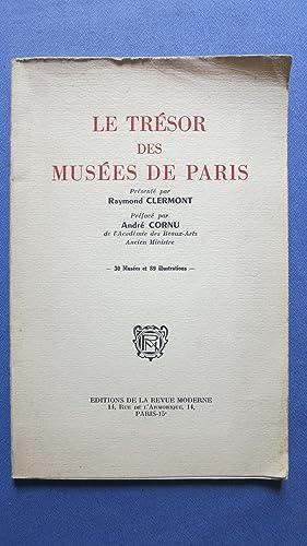 Le trésor des Musées de Paris: CLERMONT (Raymond)