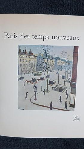 Paris des temps nouveaux. De l'impressionisme à nos jours.: COURTHION (Pierre).