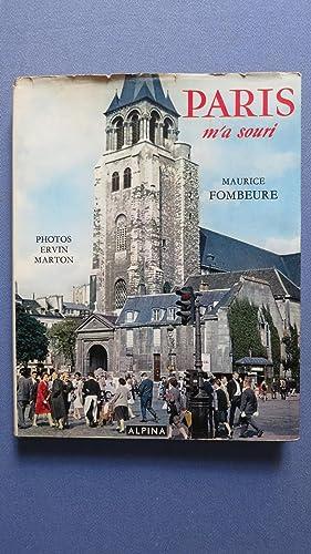 Paris m'a souri.: FOMBEURE (Maurice)